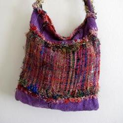 Pink and Purple Gypsy Boho Bag